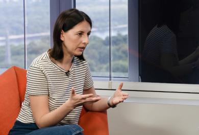 Анастасія Станко: «ВВС, Reuters, СNN мають говорити з терористами, з екс-міністром МВС, з Януковичем – а чого не ми?»
