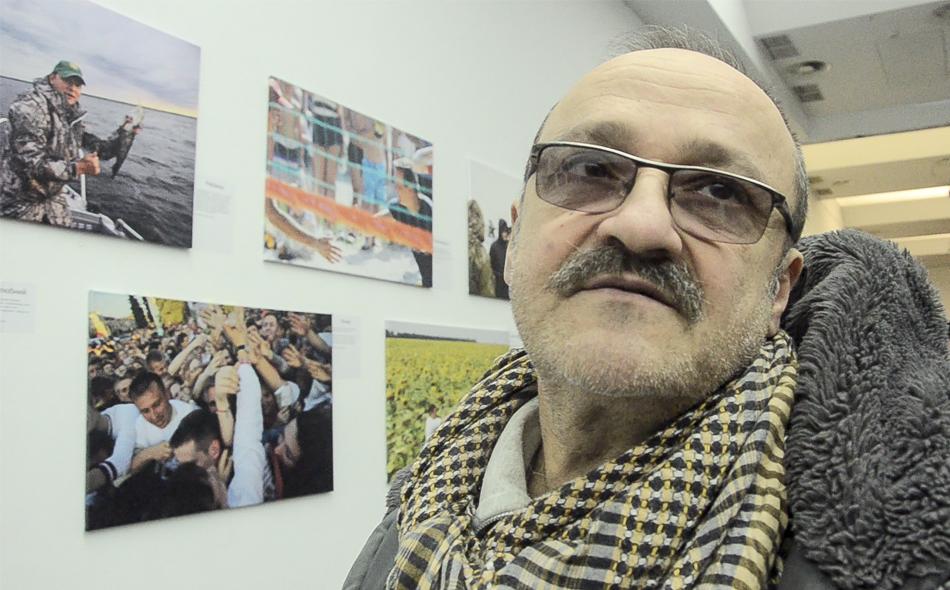 Єфрем Лукацький на фотовиставці «75 відтінків Олега Ляшка»: «Політика – найприбутковіший бізнес. І оргазм»