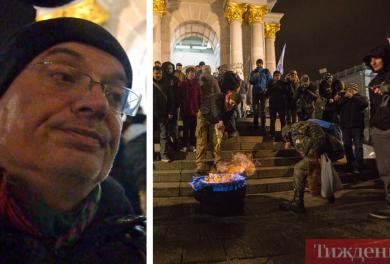 Медіаексперт Олексій Ковжун про шини у вогні на Майдані: