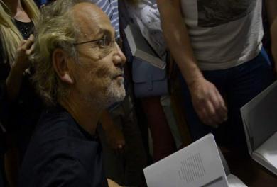 «Свобода слова против страха и унижения». Как Савик Шустер свою книгу на «Книжном Арсенале» презентовал