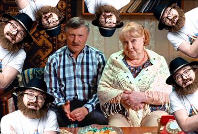 Репортаж с семейного фронта героев сериала «Когда мы дома». Backstage